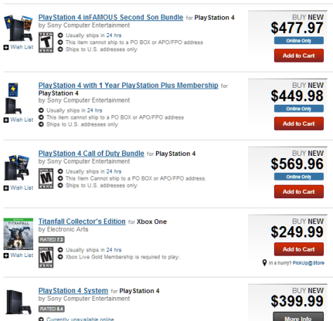 PS4 Gamestop Domination